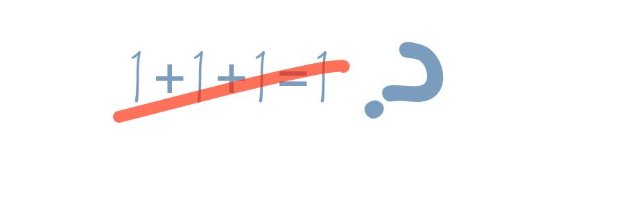 TRINITY 1: Bad maths?